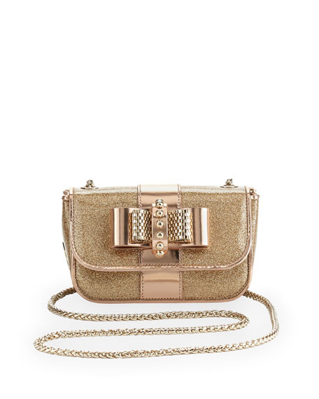 Sweety Charity Spike Glitter Crossbody Bag