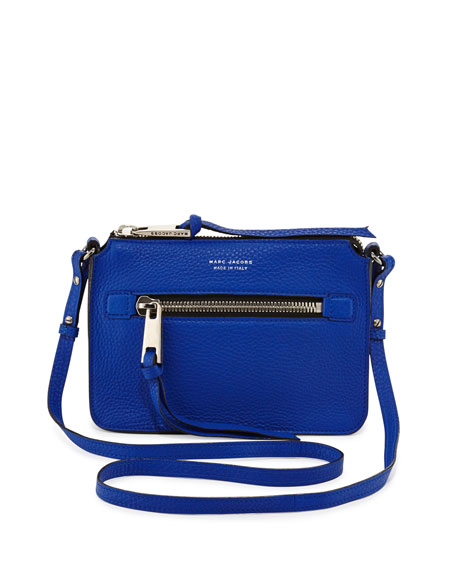 Big Apple Pochette Crossbody Bag, Royal
