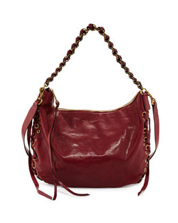 Marc Jacobs Laces Nomad Hobo Bag, Wine