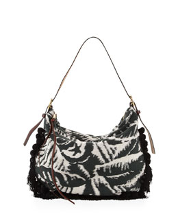 Marc Jacobs Woodblock Terry Nomad Hobo Bag, Multi