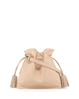 Loewe Flamenco 30 Drawstring Bag, Neutral