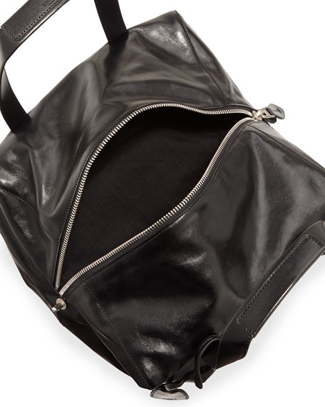 Origami Cubo 30 Large Tote Bag, Black