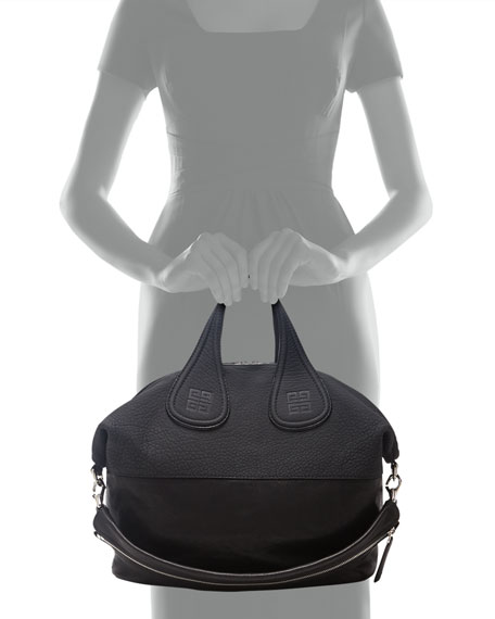db28e2949a35 Givenchy Nightingale Medium Leather Satchel Bag