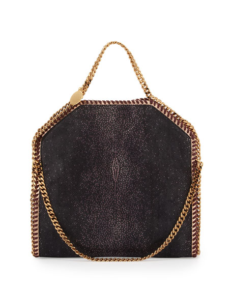 6a3be2d730 Stella McCartney Falabella Shaggy Deer Fold-Over Tote Bag