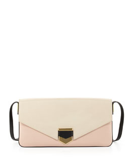 Time's Arrow Vega Colorblock Shoulder Bag, Ivory