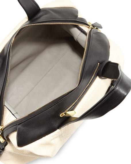 Atlas Python Satchel Bag
