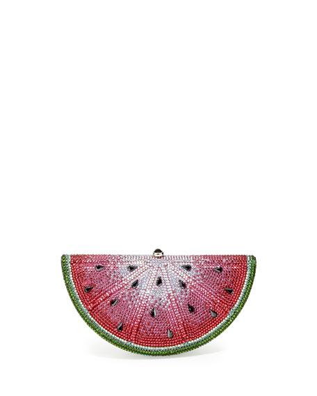 Crystal Watermelon Slice Minaudiere