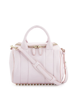 Alexander Wang Rockie Small Crossbody Satchel Bag, Gummy Pink