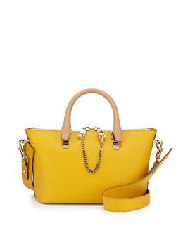 Chloe Baylee Mini Shoulder Bag, Yellow/Brown