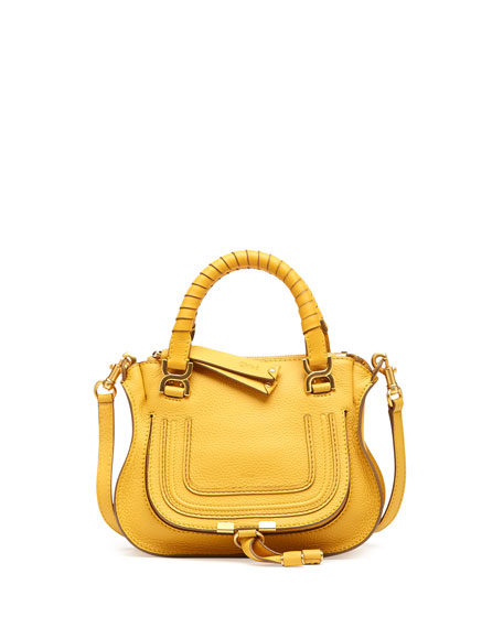 Marcie Mini Shoulder Bag, Yellow