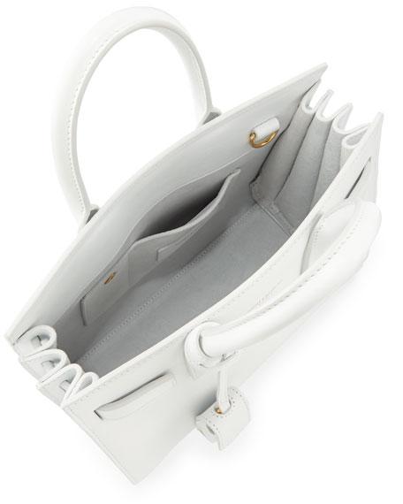Sac de Jour Nano Crossbody Bag, White