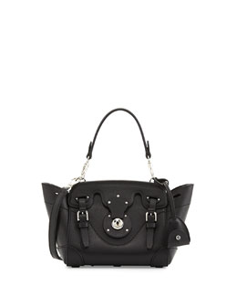 Ralph Lauren Soft Ricky 18 Crossbody Bag, Black