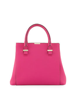Victoria Beckham Liberty Structured Tote Bag, Pink