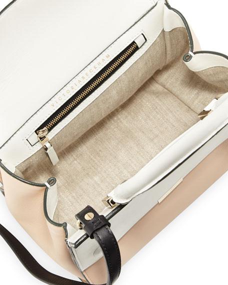 Tricolor Mini Soft Tote Bag