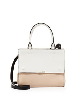 Victoria Beckham Tricolor Mini Soft Tote Bag