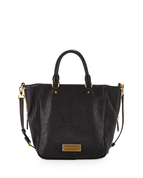 dbcc12e01ce MARC by Marc Jacobs Washed Up Leather Tote Bag, Black