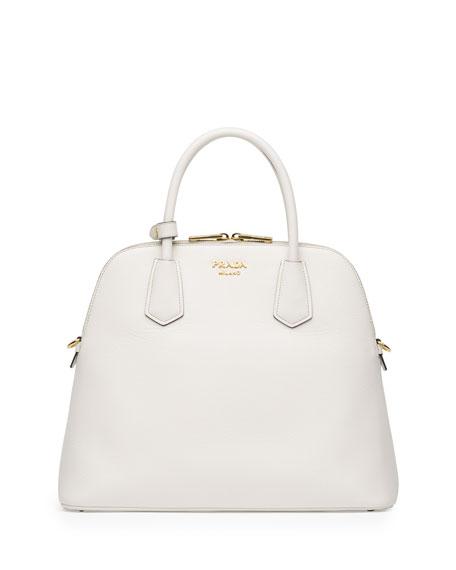 36863e495eb3 Prada Saffiano Cuir Large Dome Satchel Bag