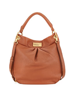 MARC by Marc Jacobs Classic Q Hillier Hobo Bag, Smoked Almond