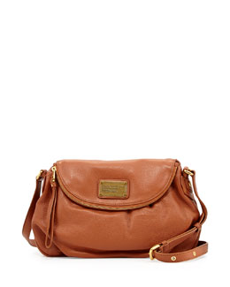 MARC by Marc Jacobs Classic Q Natasha Crossbody Bag, Smoked Almond