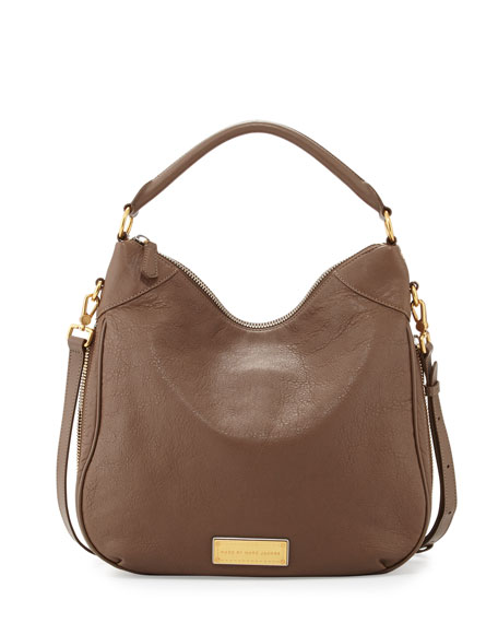 48c4463831d MARC by Marc Jacobs Washed Up Billy Hobo Bag, Brown Earth=