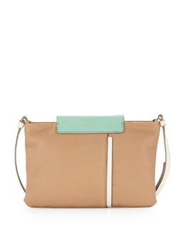 MARC by Marc Jacobs Round the Way Girl Percy Crossbody Bag, Buff Sand Multi