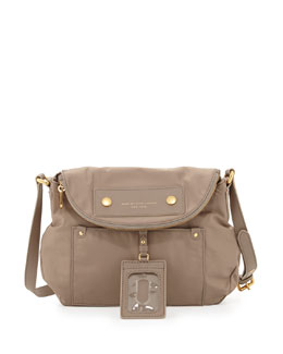 MARC by Marc Jacobs Preppy Nylon Natasha Crossbody Bag, Cement