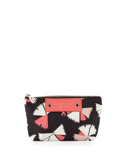 MARC by Marc Jacobs Preppy Pinwheel Nylon Cosmetics Bag, Black Multi