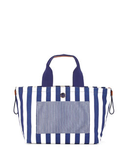 MARC by Marc Jacobs Striped Summer Tote, Deep Ultraviolet