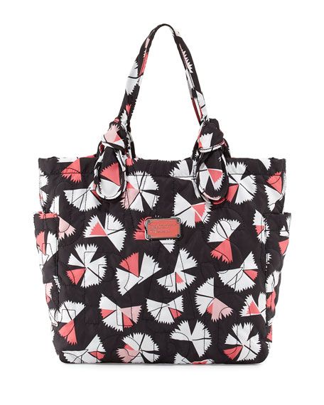 7edf2cc23ea889 MARC by Marc Jacobs Pretty Nylon Pinwheel Medium Tate Tote Bag, Black Multi