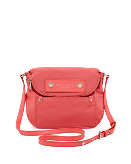 MARC by Marc Jacobs Preppy Nylon Natasha Crossbody Bag, Bright Coral