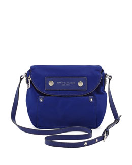 MARC by Marc Jacobs Preppy Nylon Mini Natasha Crossbody Bag, Deep Ultraviolet