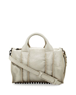 Alexander Wang Rocco Inside-Out Satchel Bag, Chalk