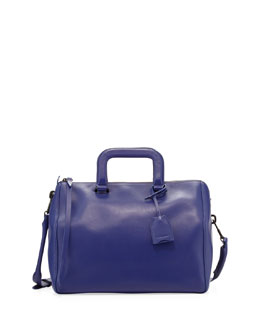3.1 Phillip Lim Wednesday Medium Boston Satchel Bag, Ultramarine