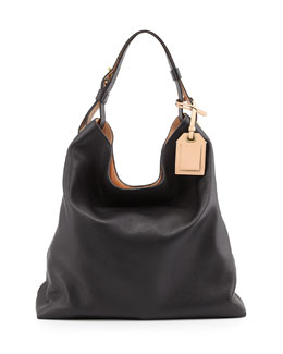 Reed Krakoff RDK Leather Hobo Bag, Black