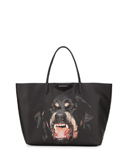 Givenchy Antigona Large Rottweiler Tote Bag, Multi