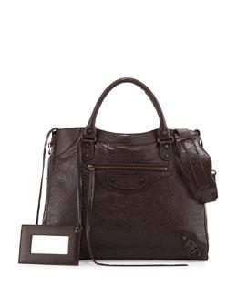 Classic Velo Bag, Dark Brown