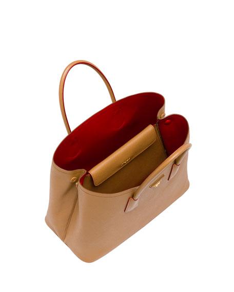 Prada Saffiano Cuir Double Bag Small