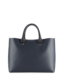 Chloe Baylee Medium Bicolor Tote Bag, Navy