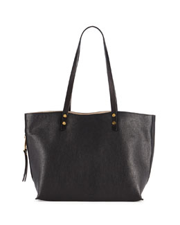 Chloe Dilan East-West Leather Tote Bag, Black