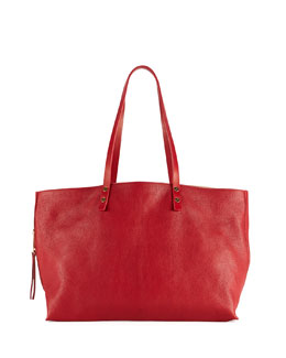 Chloe Dilan East-West Leather Tote Bag, Red
