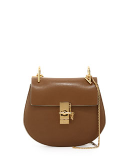 Chloe Drew Medium Chain Shoulder Bag, Khaki