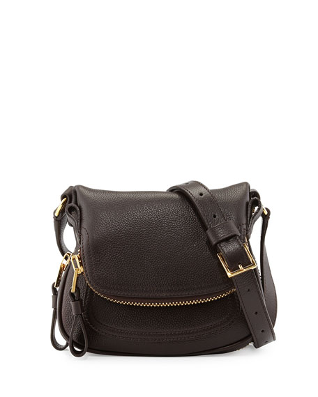 Jennifer Mini Crossbody Bag, Brown