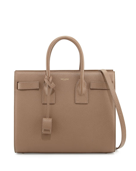 De Small Grained Taupe Bag Jour Carryall Sac T13JulFK5c