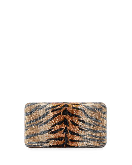 Judith Leiber Couture Airstream Large Animal-Print Clutch Bag, Ceylon Multi