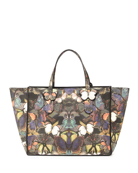 Butterfly Camouflage Tote Bag