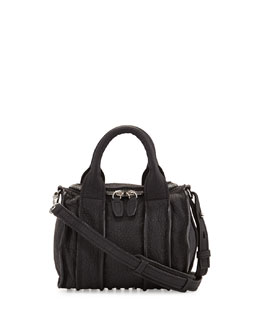 Alexander Wang Inside-Out Rockie Small Crossbody Satchel, Black