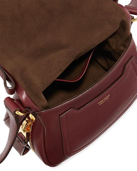 8dc8ceb34 TOM FORD Jennifer Mini Calfskin Crossbody Bag, Red