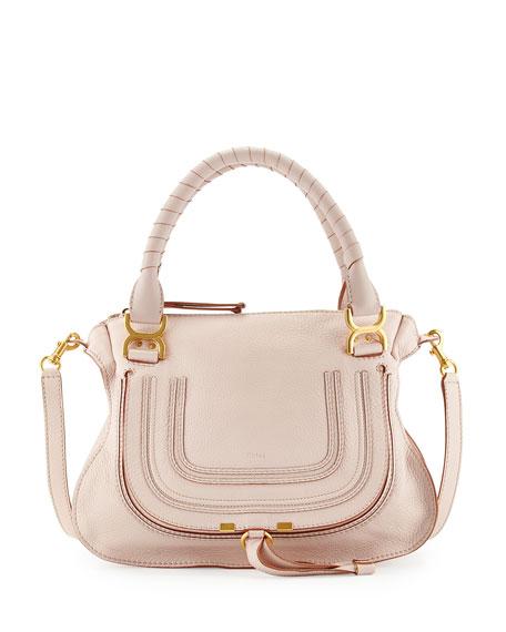 37b696261 Chloe Marcie Medium Satchel Bag, Nude (Pink)