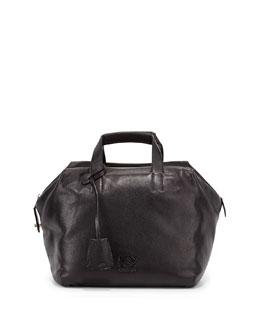 Loewe Origami Cubo Medium Tote Bag, Black