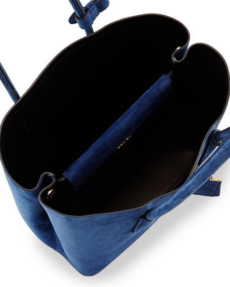 0ffaeafc21959 Prada Suede Medium Double Bag